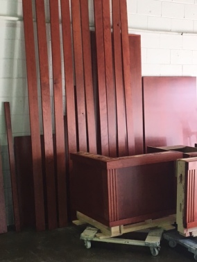 CUSTOM STAINED MILLWORK